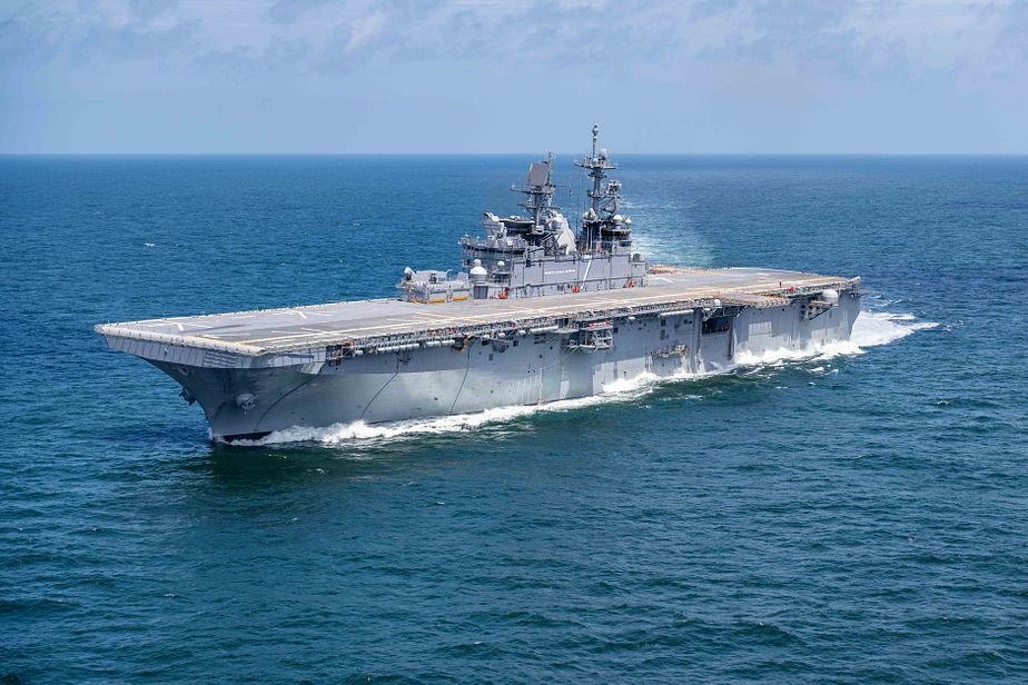 America Class Amphibious Assault Ship