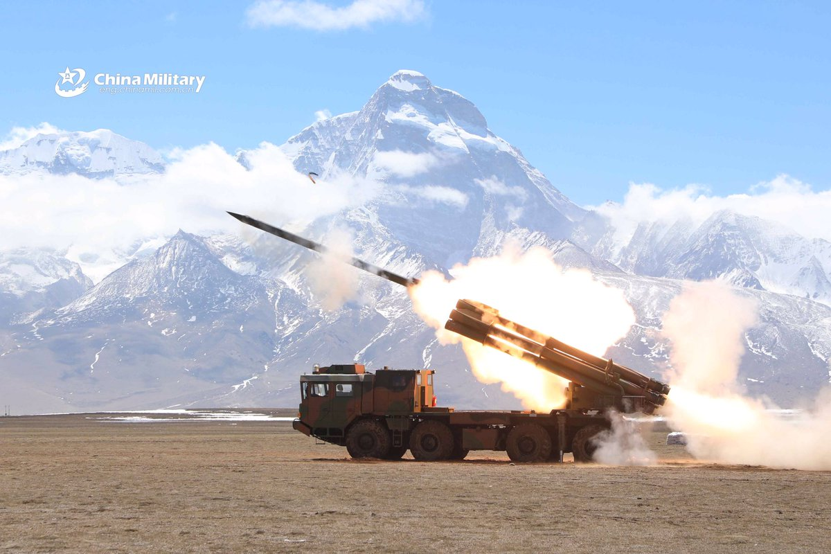 Tension with India continues with the deployment of rocket launchers on the border