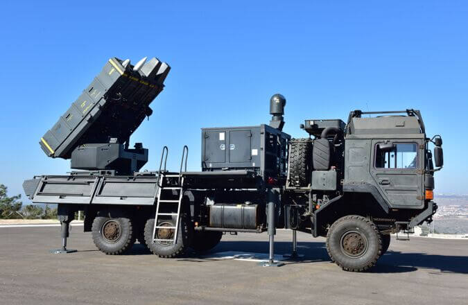 Czech army selects Israeli-made Spyder as new air defense missile system