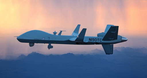 MQ-9B SkyGuardian a variant of the Predator B Remotely Piloted Aircraft (RPA)