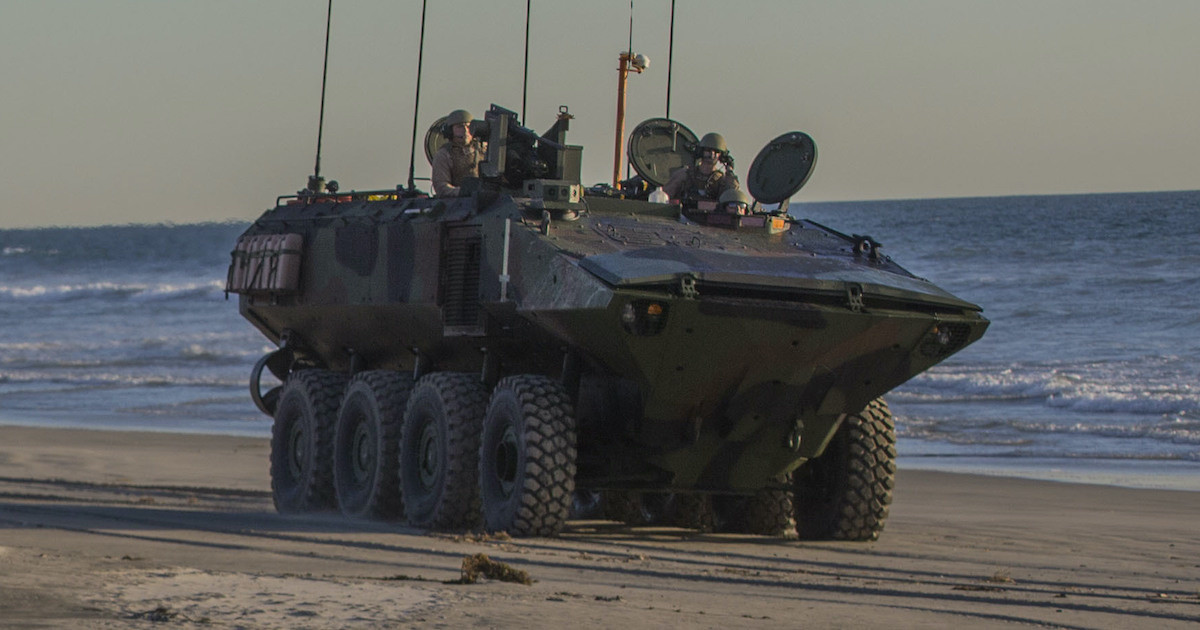 Amphibious Combat Vehicle is produced by BAE Systems