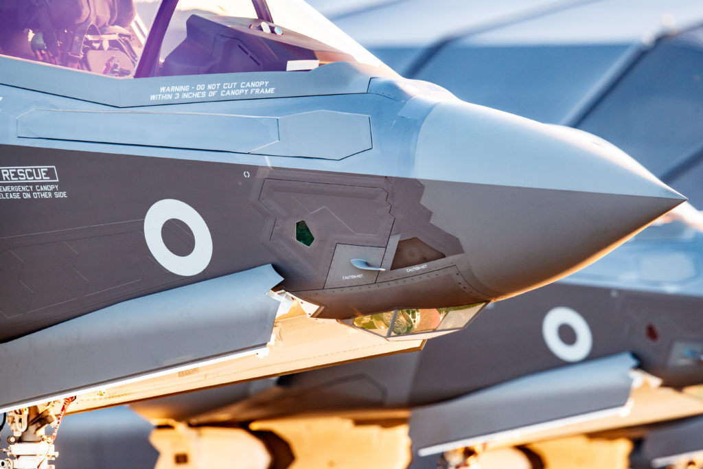 The new contract extends Solvay's long-standing partnership on the F-35 program and underlines the company's leadership in composite and adhesive technologies for military platforms