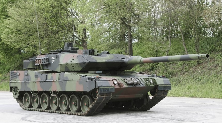First trial tests for new German Army Leopard 2A7V Main Battle Tank
