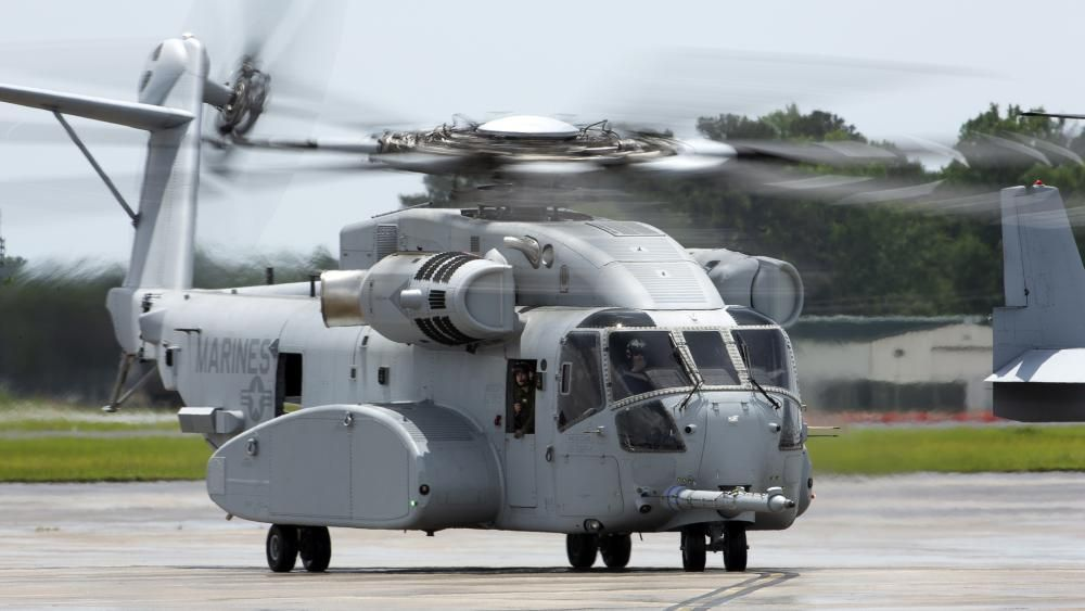 TheSikorsky CH-53K King Stallionis aheavy-liftcargo helicoptercurrently being produced bySikorsky Aircraftfor theUnited States Marine Corps(USMC)