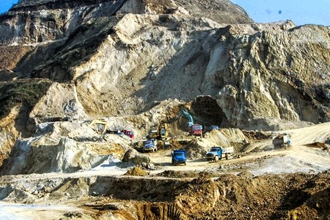 China accounts for over 95 percent of the world's production of rare earths minerals