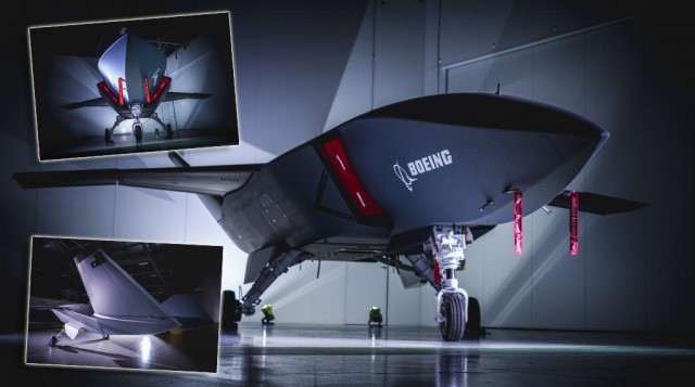 Boeing Loyal Wingman project, is a stealth UAVin development byBoeing Australiato perform autonomous missions using artificial intelligence