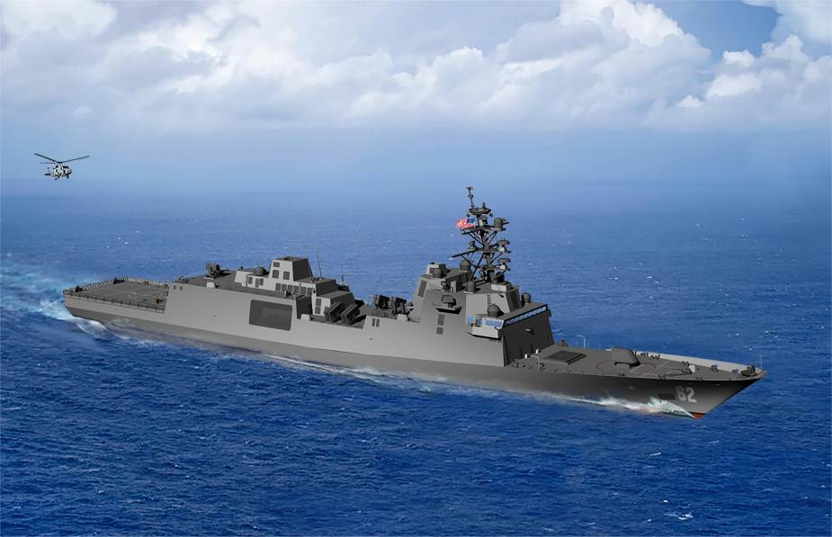 USS Constellation is the name for the first US Navy Guided Missile Frigate FFG(X) class FFG 62
