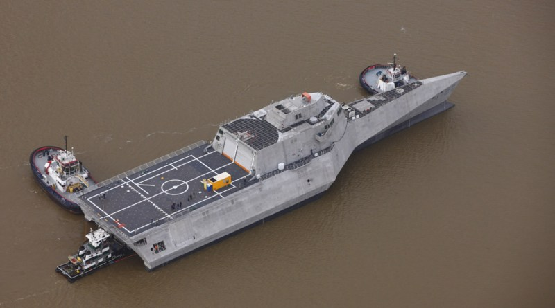 US Navy concludes acceptance trial of USS Mobile LCS 26 Independence-class littoral combat ship