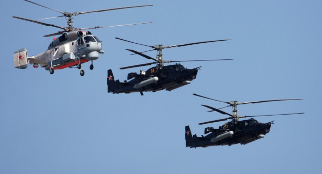 Russia designs new seaborne helicopters