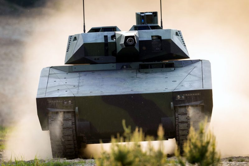 The KF41 Lynx is an IFV (Infantry Fighting Vehicle) in the Lynx family of a tracked armored vehicle