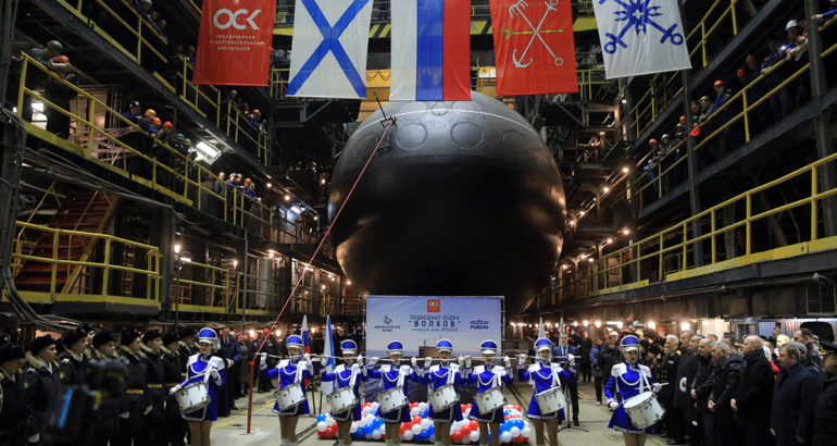 Project 636.3 diesel-electric submarine Volkhov entered service with Russian Navy