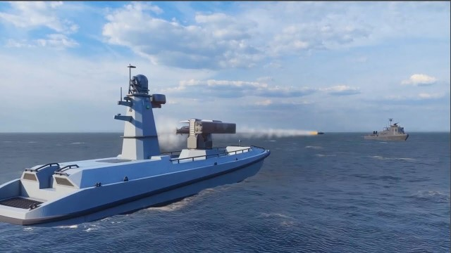Antalya-based ARES Shipyard and Ankara-based METEKSAN Defence have unveiled a concept of Turkey's first Armed Unmanned Surface Vehicle, called the named ULAQ