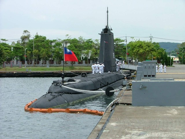 Taiwan to start construction of first local-made submarine