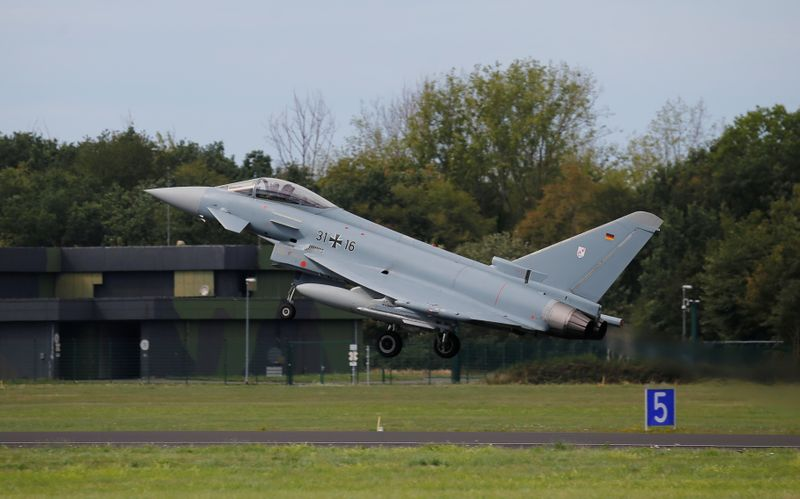 Germany approves the purchase of new fighter jets Eurofighter and F-18s
