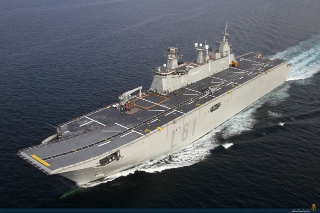 Juan Carlos I amphibious assault ship
