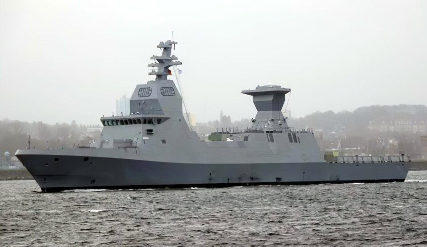 First Sa'ar 6 corvette INS Magen is sailing to Israel to join the Israeli Navy
