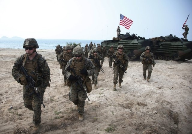 US Marines to start military training exercises with Taiwanese armed forces
