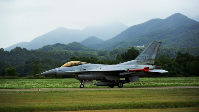 Korean Air to provide service life extension work for USAF F-16 jets