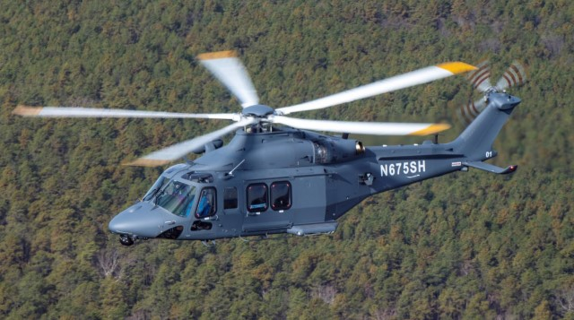 The MH-139A Gray Wolf is a variant of the Leonardo AW-139, specifically developed to respond to the needs of the USAF