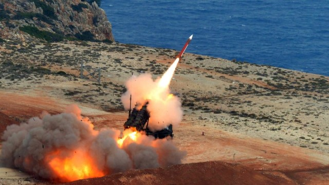 NATO conducts Patriot missile life fires in Crete