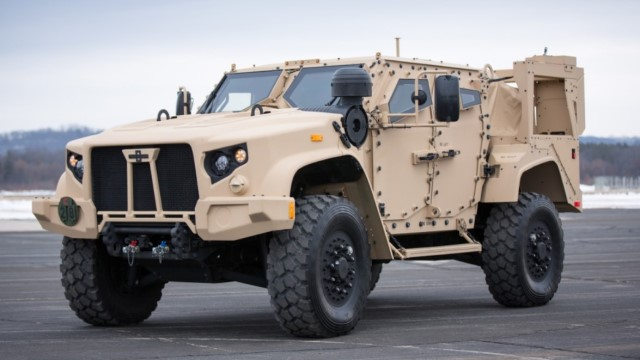 The Oshkosh joint light tactical vehicle (JLTV) was developed by Oshkosh Defence for the US Army and Marine Corps