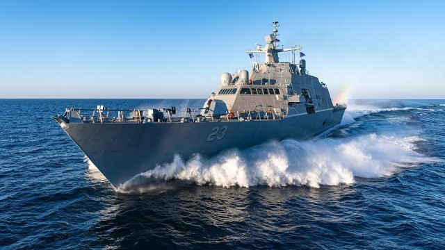 The Freedom class is one of two classes of the littoral combat ship program, built for the United States Navy