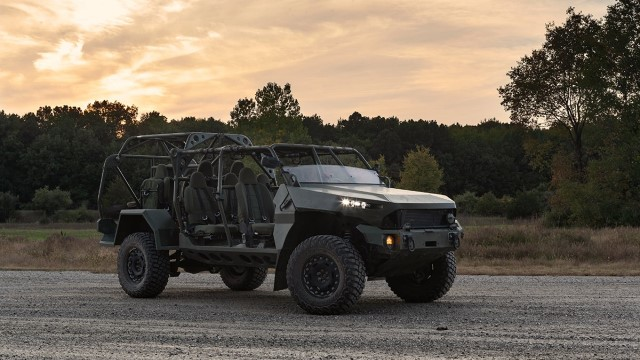 The Infantry Squad Vehicle (ISV), is an air-transportable high-speed, light utility vehicle selected by the United States Army in 2020