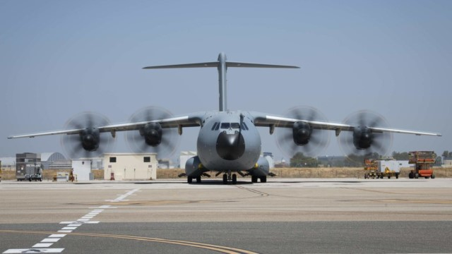 Belgian Air Force takes delivery of its first new A400M MSN106 military transport aircraft