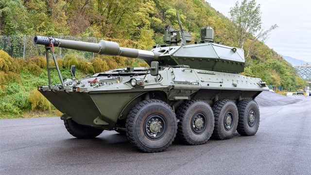 Italy orders 86 Centauro II 8×8 120mm anti-tank wheeled armored vehicles