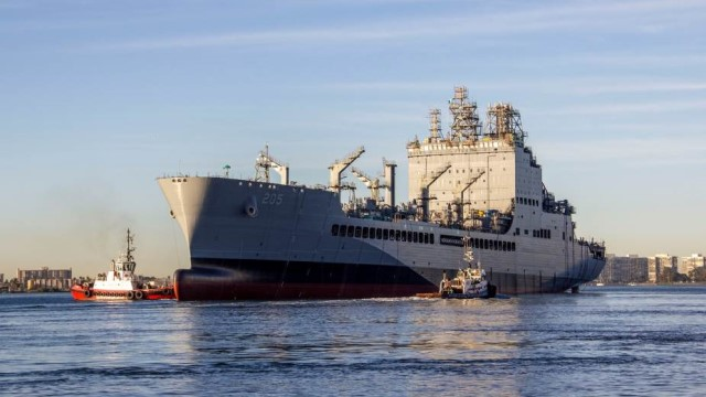 USNS John Lewis (T-AO-205) is a United States Navy replenishment oiler and the lead ship of her class. She is part of the Military Sealift Command fleet of support ships