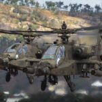 The AH-64 Apache attack helicopter was developed by McDonnell Douglas (now Boeing) for the US armed forces. It entered service with the US Army in 1984