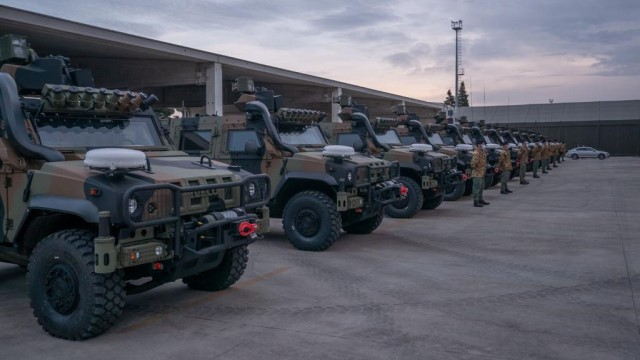 First Iveco LMV 2 NEC armored vehicles enter service with Italian army