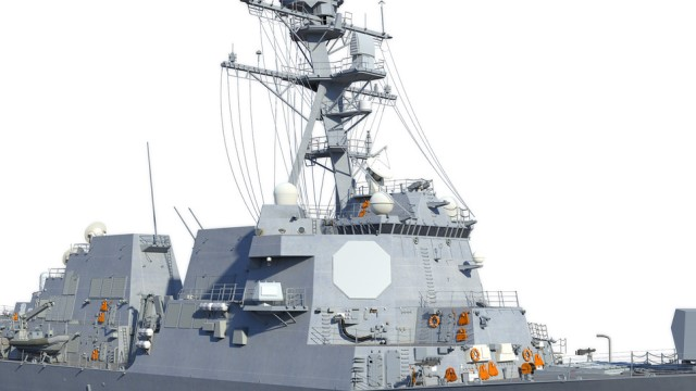 AN/SPY-6 radar installation begins on USS Jack H. Lucas