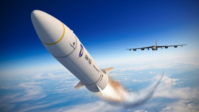 Unsuccessful flight test for US Air Force AGM-183A ARRW booster vehicle