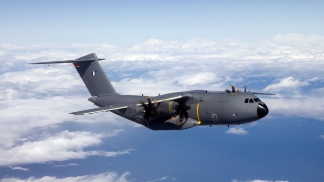 18th French A400M transport aircraft arrives with new capabilities