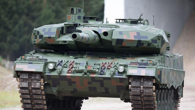 German Leopard 2A7A1 tanks with Trophy active protection system to be deployed with NATO