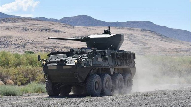 Oshkosh Defense to upgrade US Army Stryker armored vehicles with 30mm weapon station