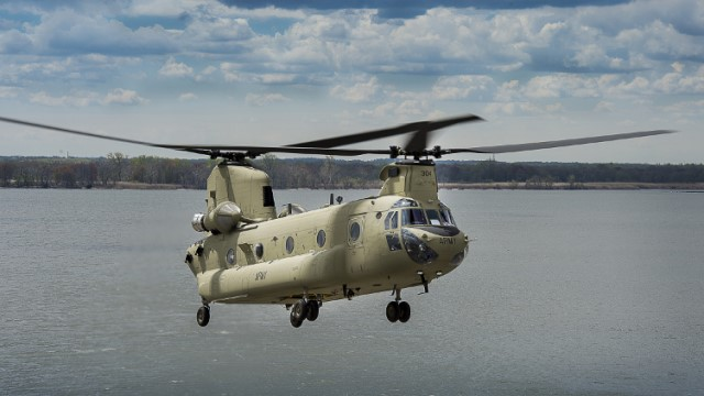 Australian Army gets two additional Boeing CH-47F Chinooks