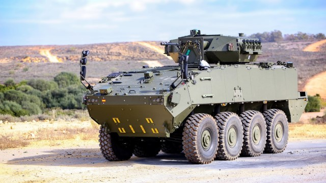 Spanish army expects to receive 7 8×8 VCR Dragon IFVs in 2022